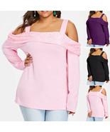 Fashion Women Off Shoulder Lace Panel Patchwork Strapless Blouse Tops Pl... - $18.20