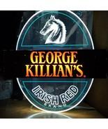 George Killian's Irish Red Brand Bar Sign Neon Lights Up Vintage 83 12.5... - $276.21