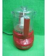 Cuisinart Mini-Prep Plus ~ Food Processor ~ DLC-2A ~ 2-3 Cups ~ Red - $15.85