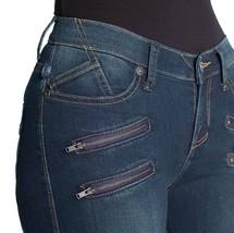 New ROCK & REPUBLIC R&R Size: 8 KASHMIERE Zipper-Pocket Denim LEGGING JEANS - $59.99