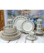 ROYAL DOULTON Tapestry Service for 6 Dinner Plates Salad Soup Bowls Cups... - $789.00