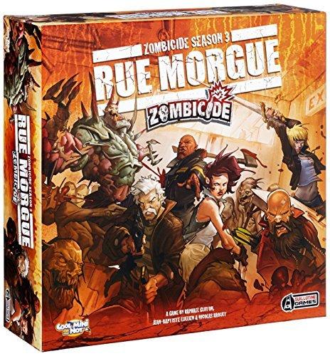 CMON Zombicide Season 3 Rue Morgue Board Game