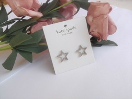 Kate Spade New York Seeing Stars Silver Pave Star Stud Earring - $21.77