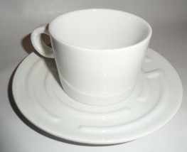 Fred and Friends MazeCafe Tea Coffee Cup and Saucer White Porcelain Erde... - $23.76