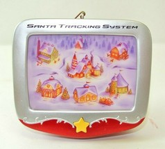 "2007 Hallmark Ornament ""Santa Tracking System"" QHF3097 - $11.24"