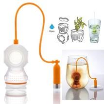 Useful Mesh Tea Infuser Creative Diver Tea Strainers Leaf Strainer Filte... - $11.39