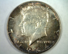 1964 KENNEDY HALF DOLLAR CHOICE UNCIRCULATED/ GEM SUPER ATTRACTIVE TONIN... - $65.00