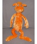 Dr SeuSS orange Foot Book Plush Toy Doll Kohls Cares For Kids EUC bear - $13.85