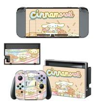 Nintendo Switch Console Joy-Con Skin Vinyl Decals Sticker Cinnamoroll Baby Cute - $9.60