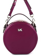 AUTHENTIC NEW NWT MICHAEL KORS $228 DELANEY PURPLE MED TH CANTEEN MESSEN... - $99.99