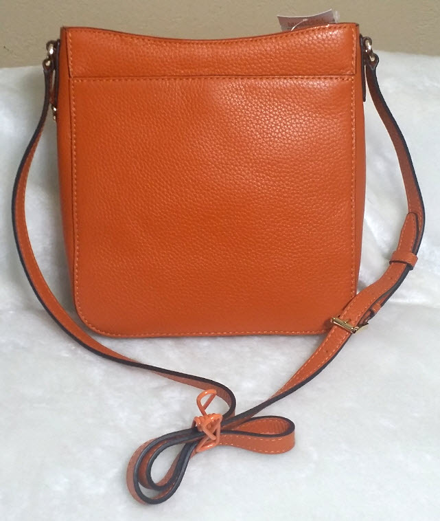 48623f6897cf Michael Kors Hamilton Travel Messenger Orange Tangerine Orange Cross Body  Nwt