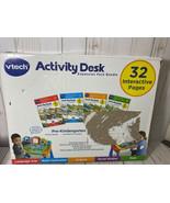VTech Activity Desk Pre-K Expansion Pack Bundle 32 Pages w/ 4 Cartridges... - $99.00