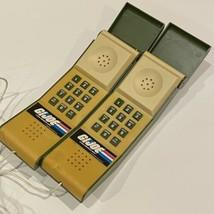 AS IS GI Joe Hong Kong 1983 Hasbro Wired Telecommunicators FOR REPAIR - $49.49