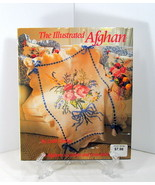 The Illustrated Afghan by Leslie Linsley 26 Afghans to Crochet and Cross... - $19.95