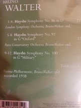 Walter Conducts Haydn Symphonies Cd image 2