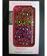 Fashionation Macbeth Collection iPod Touch case/cover 5th Gen Ombre Leopard - $10.00
