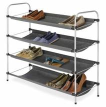 Standing Closet Shoe Sandals Bag Shelves Storage Shelves 4 Level Organiz... - $54.05