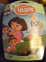 Leap Frog Baby Little Leaps Dora the Explorer-Discover Words&Language NE... - $4.94