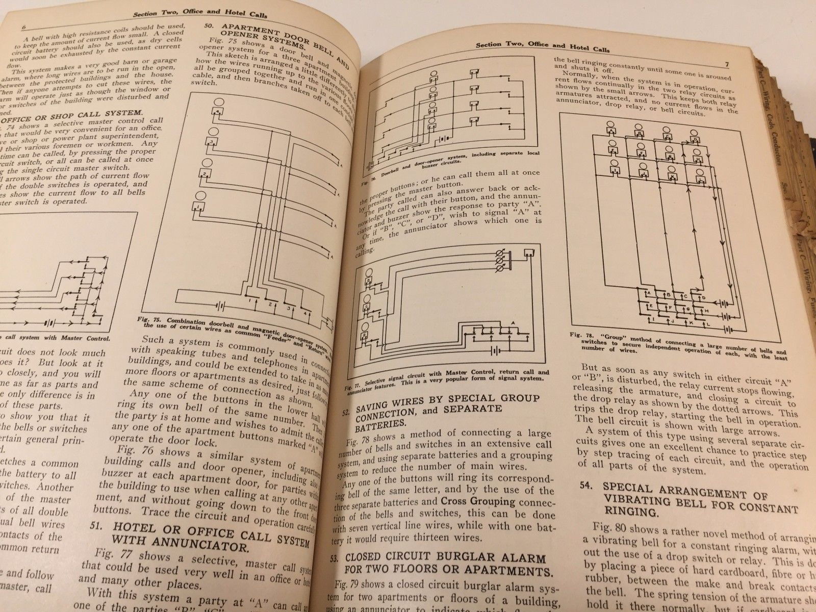 Rare 1934 General Electric Coyne Electrical And Radio School Reference Set