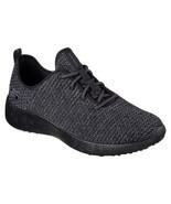 52114 BBK Black Skechers shoes Men Memory Foam Soft Sporty knit mesh Com... - $39.99