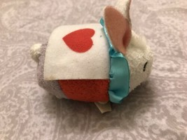 Disney Store Tsum Tsum White Rabbit Plush - $9.85
