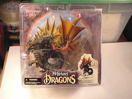2006 McFarlane's Dragons Series 4 Water Dragon w/Base MIP Unused Clan 4 - $23.96