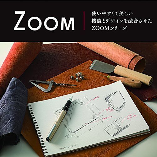 Tombow Japan SB-TCZ ZOOM 505mf Multi Function Pen - Silver Body image 5