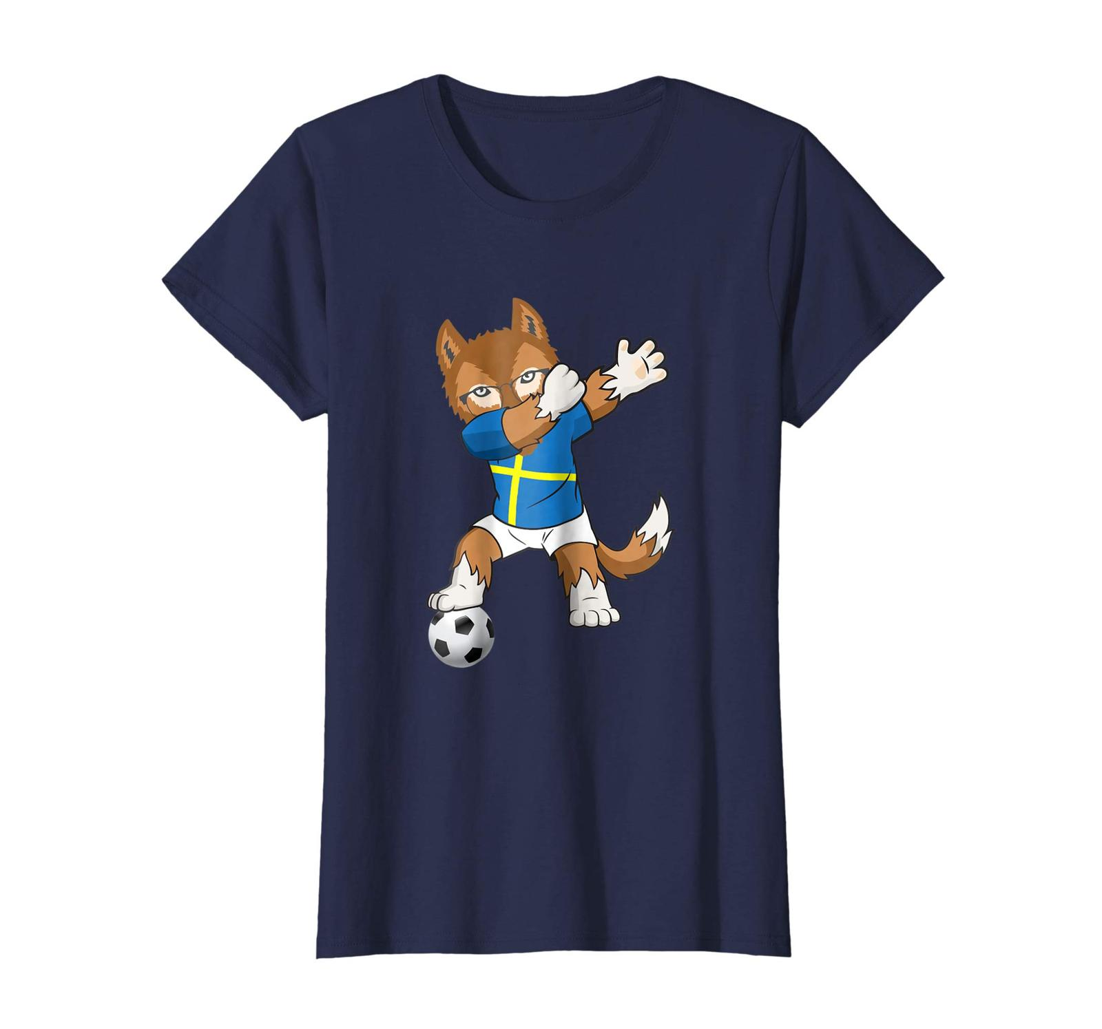 Brother Shirts - Sweden Soccer Team Fan T-Shirt Russia Football 2018 Cup Kit Wow