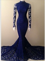 Ong prom dress royal blue royal blue dress blue dress tight form fitting dress black dr thumb200