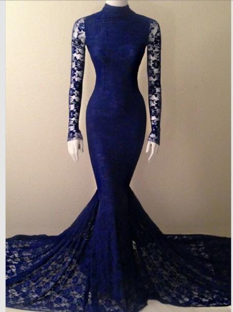 Sleeves long prom dress royal blue royal blue dress blue dress tight form fitting dress black dr