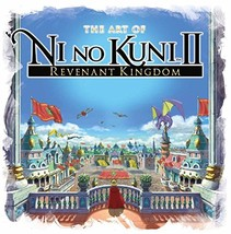 The Art of Ni no Kuni II: REVENANT KINGDOM [Hardcover] Titan Books - $28.63