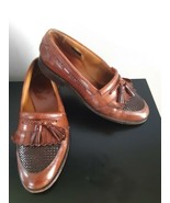 Allen Edmonds Cody Loafers Dress Shoes Walnut Brown Mens Size 8 1/2 Tass... - $59.35