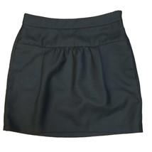Ann Taylor LOFT Women's Black Wool Mini Skirt Sz 6 - $10.69