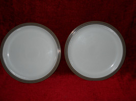 DENBY GREYSTONE  Set of 2 dinner plates - $26.68