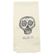 wit! Tea Towels, Skull - $21.13