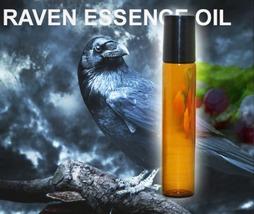 Haunted 27x ESSENCE OF RAVEN ENHANCE MAGICK DESTINY WISDOM OIL WITCH CAS... - $14.80