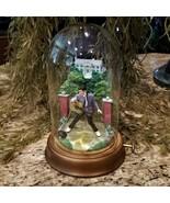 Franklin Mint Elvis Presley Graceland Love Me Tender Music Box Glass Dom... - $119.95