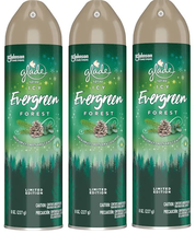 (Pack of 3) Glade Spray Limited Edition - Icy Evergreen Forest - 8 oz - $18.70