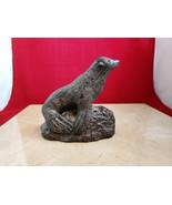 The Wolf Sculptures - A Wolf Original Handmade Canada Statue Seal Sea Lion - $12.99