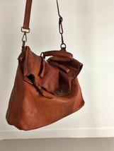 MAIL BAG handmade leather bag image 5