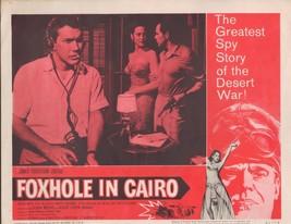 Foxhole in Cairo 1961 11x14 Lobby Card #5 - $7.83