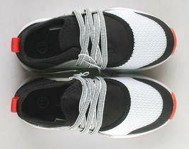 Cat & Jack Boys Toddler Black Mesh Red Keenan Slip-On Sneakers NWT image 6