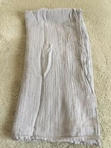 Aden And Anais Gray Large Swaddle Muslin Blanket - $12.13