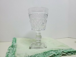 Vintage Elegant Cape Cod Clear Imperial Glass on Square Footed Pedestal ... - $6.93