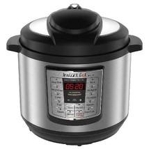 Instant Pot LUX80 8 Qt 6-in-1 Multi-Use Programmable Pressure Cooker, Sl... - $142.99
