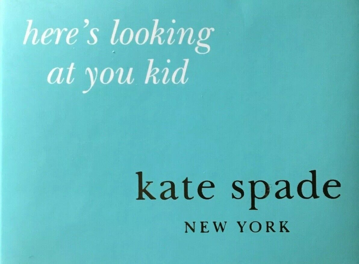 Kate Spade New York LENOX Here's Looking at You Pocket Photo Frame NIB