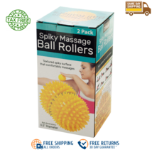 Professional Spiky Massage Balls Foot Ball Massager Roller Deep Tissue F... - $4.94