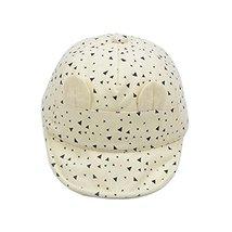 Breathable Baby Cuff Cotton Baseball Cap Visor Cap Baby Hat Sunscreen image 2