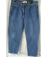 Levi's 550 Jeans Straight Mens Size 36x30  Blue - $19.79