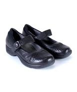 DANSKO Black Leather Mary Jane Shoes Occupational Nursing Sneakers 7.5 -... - $38.60